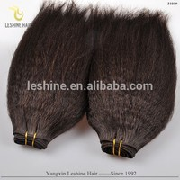 China Supplier Grade 7a 8a 9a Wholesale Unprocessed Soft Remy afro kinky bulk brazilian hair