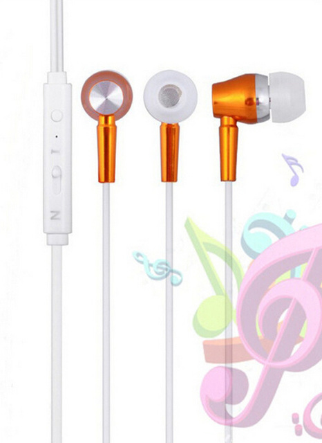 Glow In The Dark Earphones Luminous Night Light Glowing Headset In-Ear Stereo Handsfree With Mic For All Cellphone