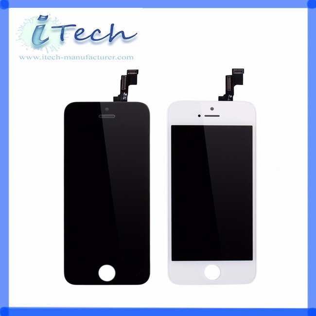 Original Replacement for iPhone 5S LCD screen With Digitizer LCD assembly, for iPhone 5S Display, for iPhone 5 5c LCD complete