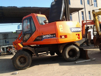 Used Doosan DH150W-7 Wheel Excavator