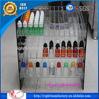 acrylic display rack for e-liquids bottles