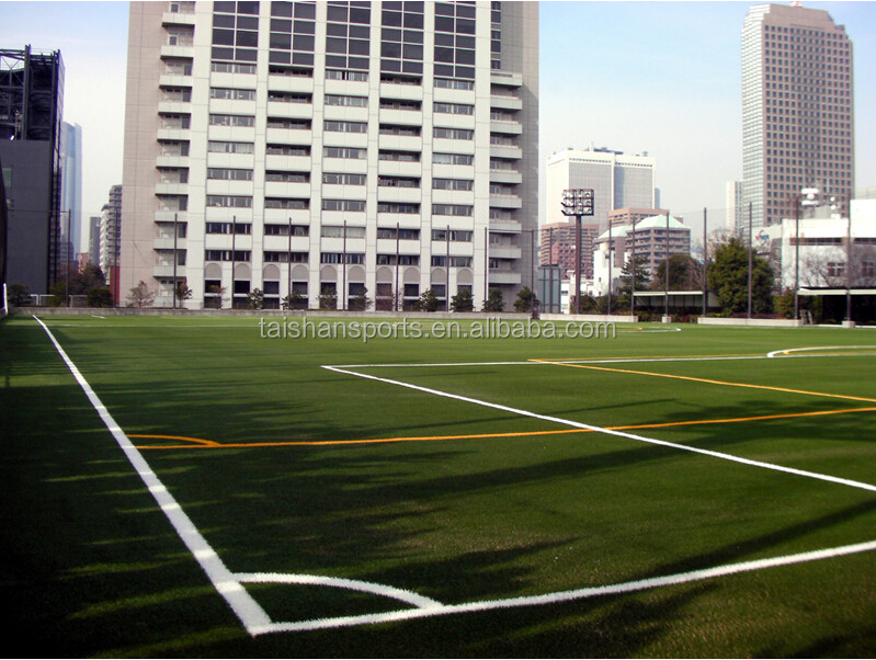Sports courts flooring and playground artificial grass