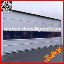 High speed plastic dustproof rolling door