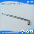Best quality 7 sections 440mm am radio telescopic rod antenna for TV and radio