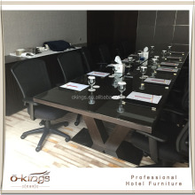 Hotel commercial dining table and chairs set