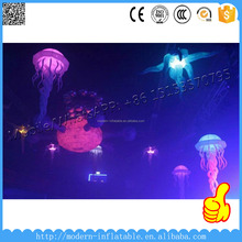party/club night decoration led inflatable jellyfish balloon
