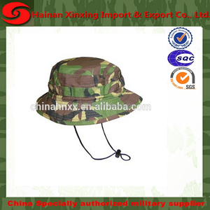 military combat hat with usmc woodland camouflage bdu bonnie hat
