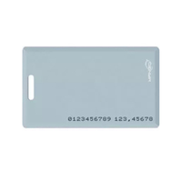 Factory offer 13.56mhz for access control passive blank pvc id card format