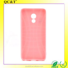Newest Plastic Fashion Fancy TPU Custom Shockproof Matte Full Scrub Mobile Phone Back Case Cover for Meizu Pro 6