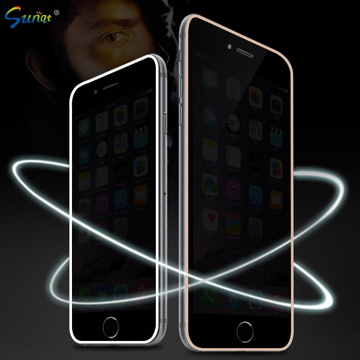 Sunqt Supply Tempered Glass Screen Protector, Privacy Screen Protector For Iphone 6/6S/6plus