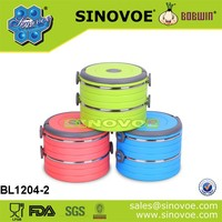 Sinovoe Promotion two layer tiffin box