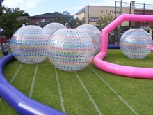 Event inflatable zorb ball race