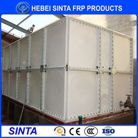 flexible hot farm building frp sectional water tank