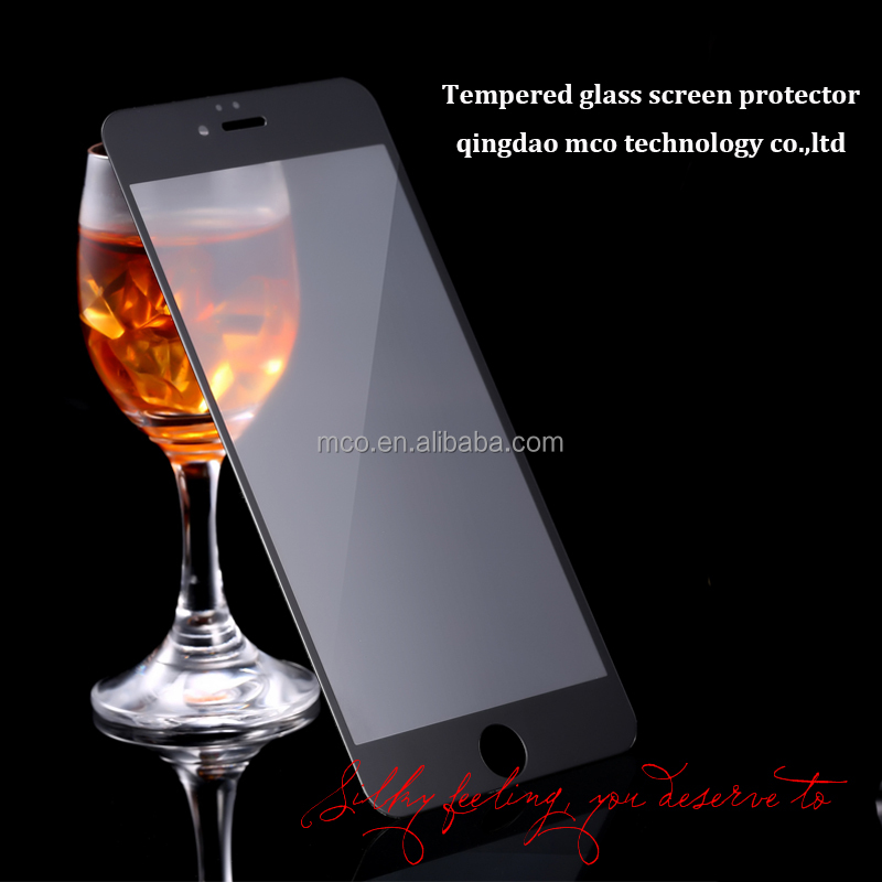 Ultra Smooth Privacy Anti-fingerprint 9H Tempered Glass Screen Protector for iPhone 6
