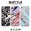 The Latest Marble Design high quality soft TPU IMD Case For apple iPhone6 6s plus silicone covers