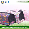 BSCI QingQ Factory fleece dog carrier pet carrier 2016 new large cat carrier