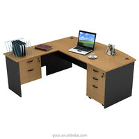 Simple small computer table,office reception table models