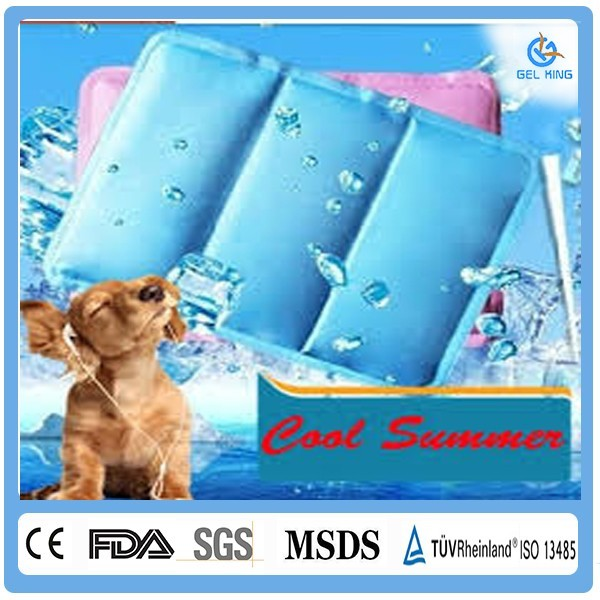 Dog cooling mat pet cooling mat 2017 pad sleep well cool gel mattress