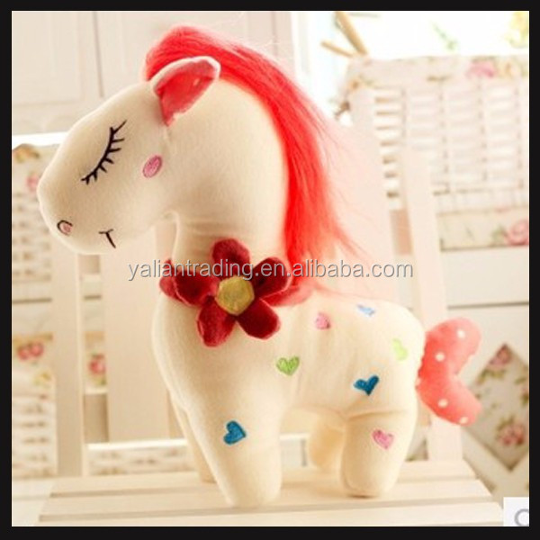 large plush toy horse of stuffed animals for sale