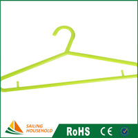 Manufacturer supplied bathroom clothes rack, plastic pants hanger clips, decorative baby hangers