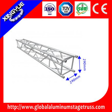 outdoor event aluminum 290x290mm lighing truss, concert roof stage truss
