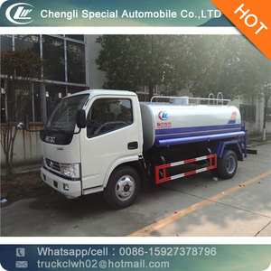 CLW 5 ton water bowser DONGFENG small water tank truck