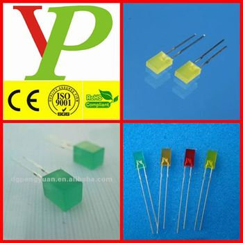 234/255/257 led diode square