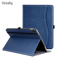 For iPad Pro 12.9 Cover,Business Slim Leather Folding Stand Folio Cover For New Apple iPad Pro Tablet With Auto Wake / Sleep