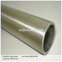 decoration mirror polishing 201304 welded stainless steel pipe price
