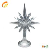 LED lighting Acrylic Mini Star Tree Topper