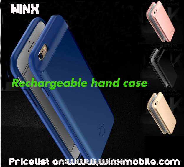 2017 hot!WINX 2500/3700mAh Back Clip Battery Charger Case Power Bank For iPhone 7 7 plus Mobile Phone Holder Function Power Case
