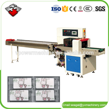Automatic Toilet Soap Horizontal Pillow Type Packaging Wrapping Machine For Handmade Soap Packing