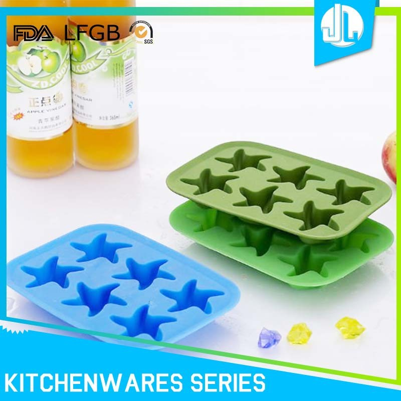 High quality cheap kitchen FDA grade silicone ice cube mold