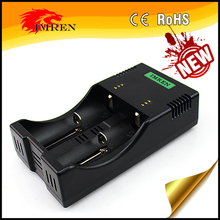 2017 HOT SALE Battery Charger 2V 18650 26650 IMREN x2 smart charger US