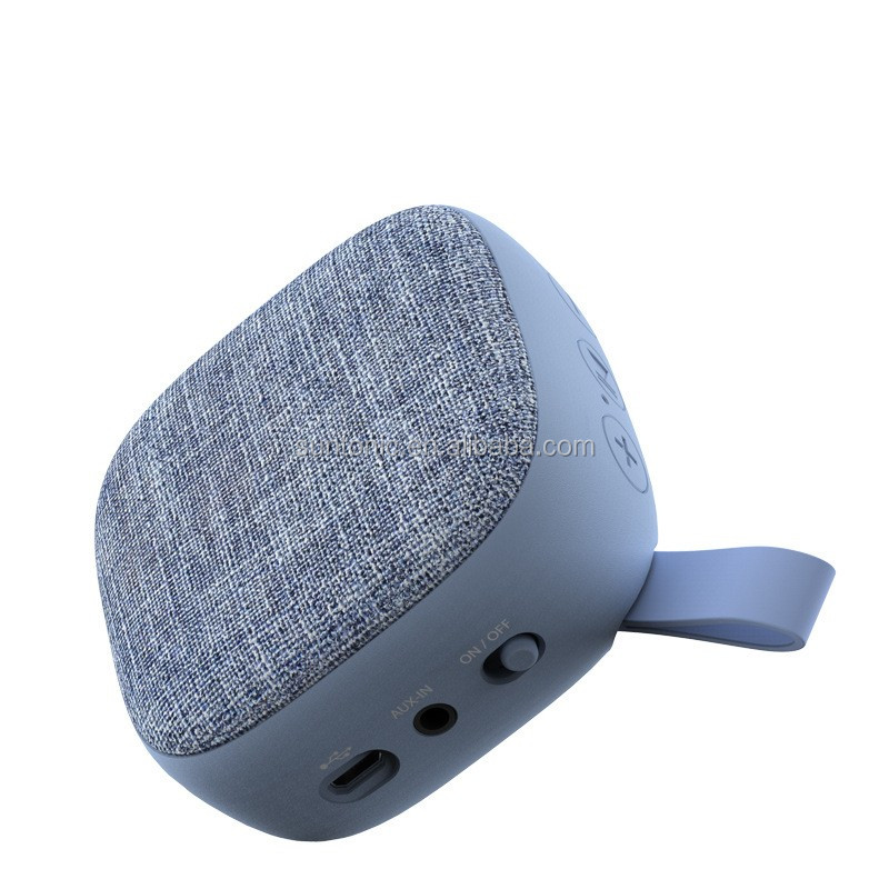 Fabrics Bluetooth Portable Wireless speaker (Cloth,Hi-Fi Bluetooth,Strong Bass,Superior Sound) for iPhone, iPad,etc