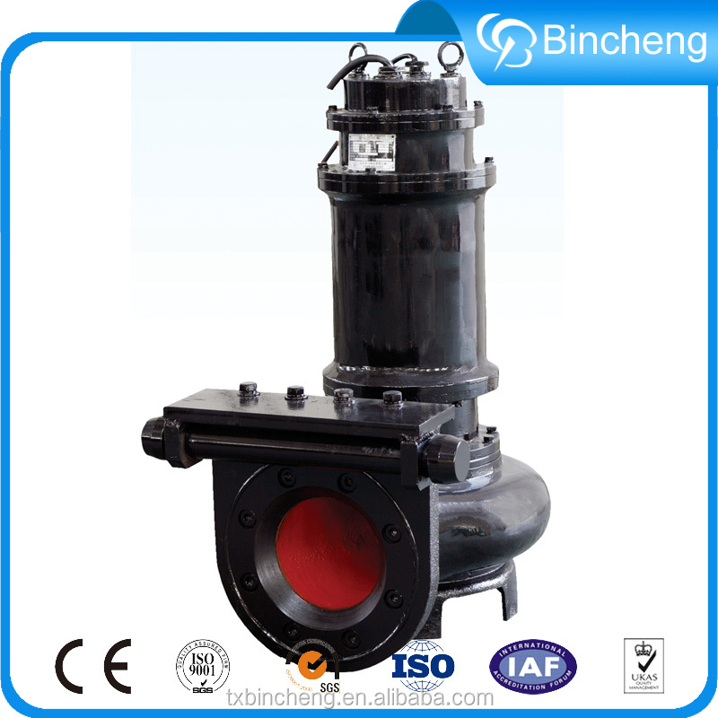 Submersible sewage pump high flow water pump centrifugal