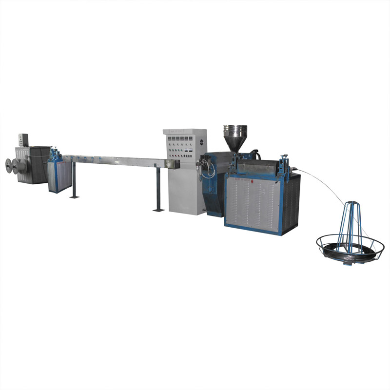 PVC Coated Steel Wire Production Line with good surface