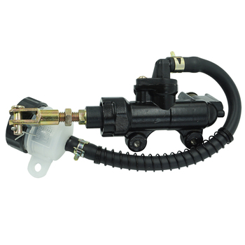 Aluminium Rear Brake Master Cylinder Pump Hydraulic Brake Pump Refit Black For Suzuki GSXR 600 750 1000 1100 GSX1300R Hayab