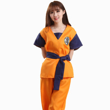 2017 Halloween Christmas Dragon Ball cosplay Junior Symbol Kame suit Costume Son Goku Suit Outfit Cosplay