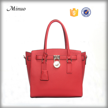 8729- New arrival fashion tote bag ladies leather tote bag women 2017 womens travel tote bag