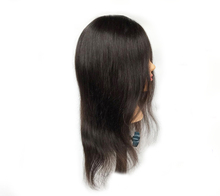 Beauty Salon Hairdressing Mixed Human Hair Head Wholesale Training Mannequin Head