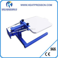 High quality Simple 1 Color T-Shirt Screen Printing Press