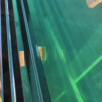 customized thickness tempered laminated glass with polished edges