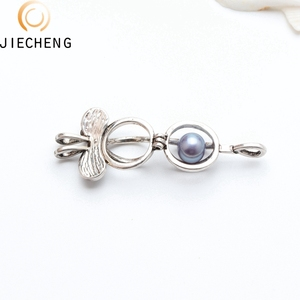 2018 cheap silver plated pearl cage mickey wholesale pearl oyster cage pendants