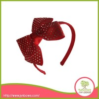 Whole Sale Grosgrain Ribbon Bow Childrens Headbands