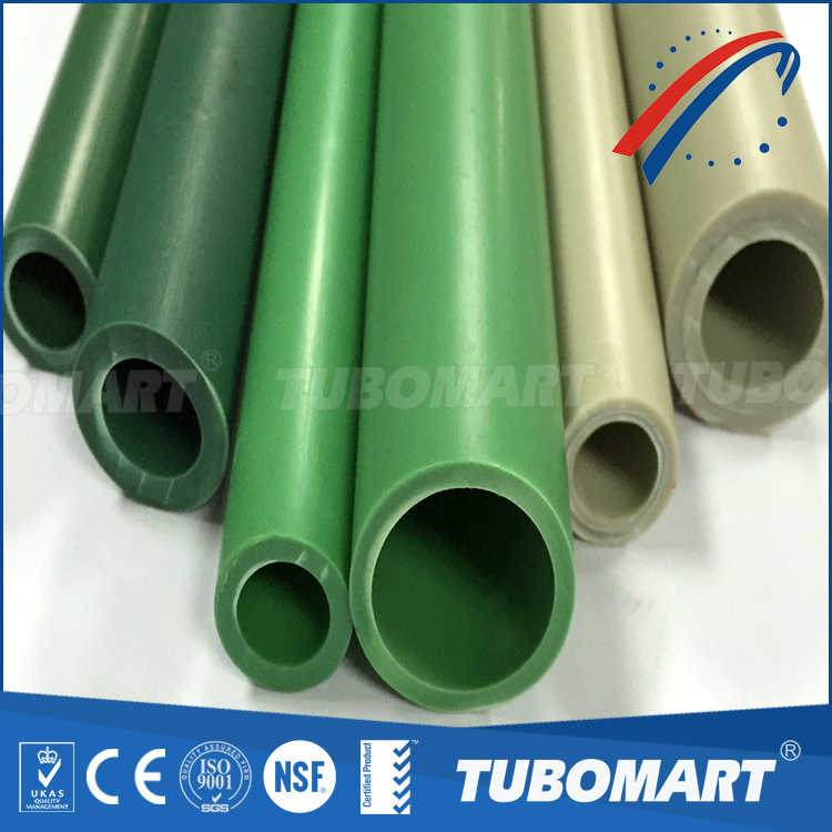 PPR-AL-PPR plastic composite pipe for cold and hot water system