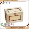 BSCI &FSC handmade hinged small wood boxes for crafts