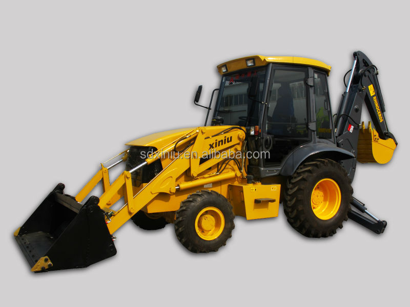 towable backhoe