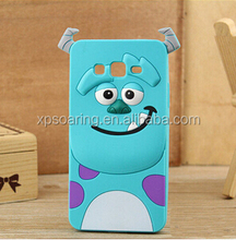 Sulley tiger chesire cat case for Samsung Galaxy A5, Duck Silicone case for Galaxy A5 A500