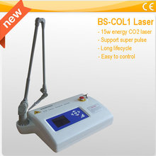 Portable scar removal CO2 Laser beauty machine 15w co2 laser